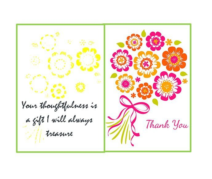 Free Printable Card Templates 30 Free Printable Thank You Card Templates Wedding