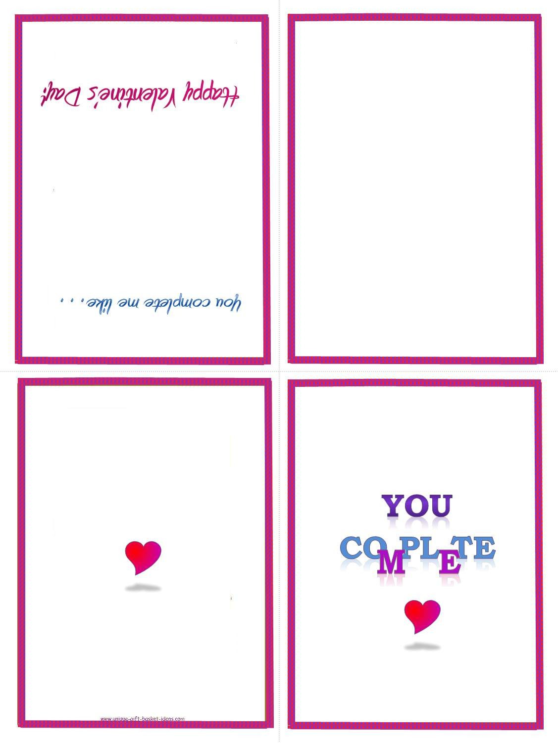 Free Printable Card Templates Easy Homemade Gift Ideas Free Printable Gifts