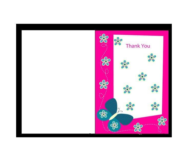 Free Printable Cards Template 30 Free Printable Thank You Card Templates Wedding