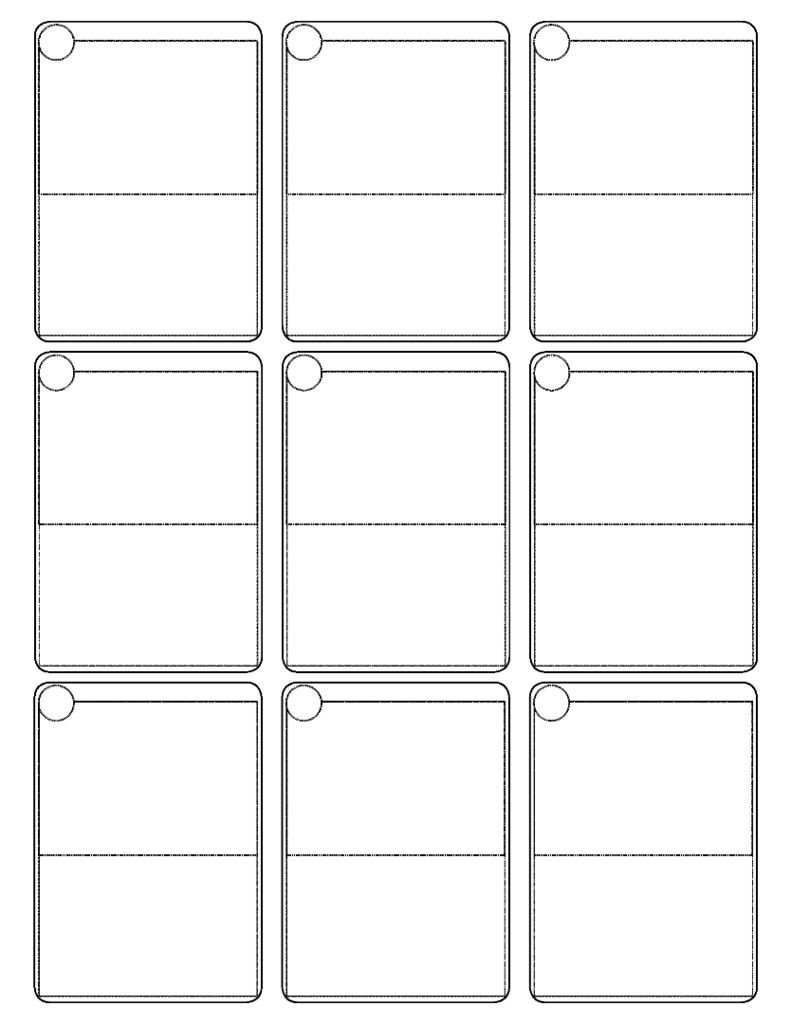 Free Printable Cards Template Flash Card Template Editable Word Free Download
