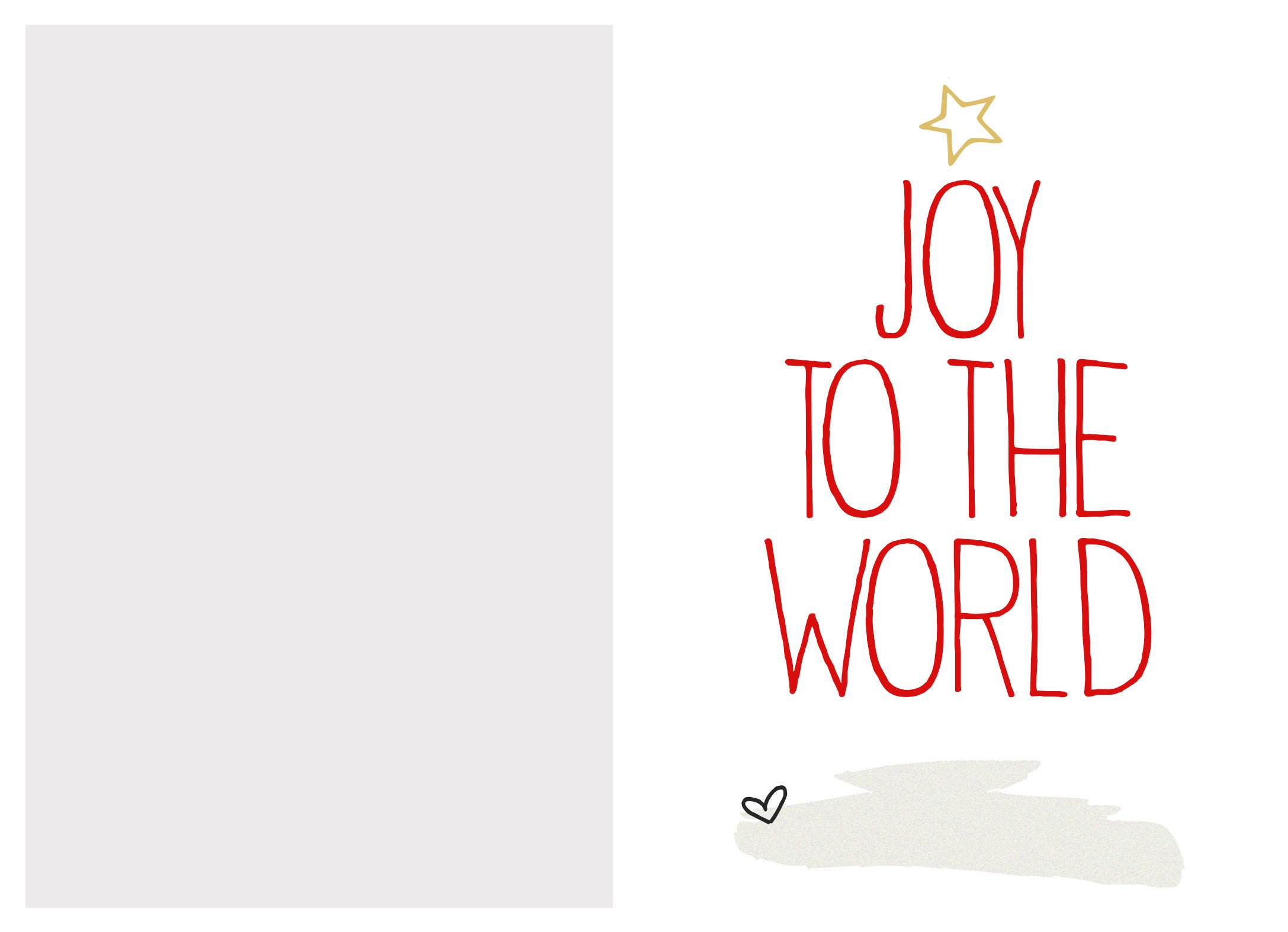 Free Printable Cards Template Free Christmas Card Template