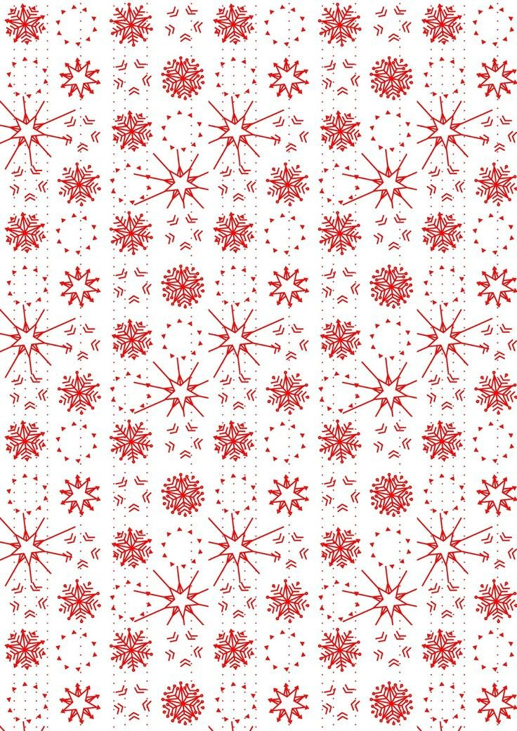 Free Printable Christmas Paper 17 Best Ideas About Pattern Paper On Pinterest