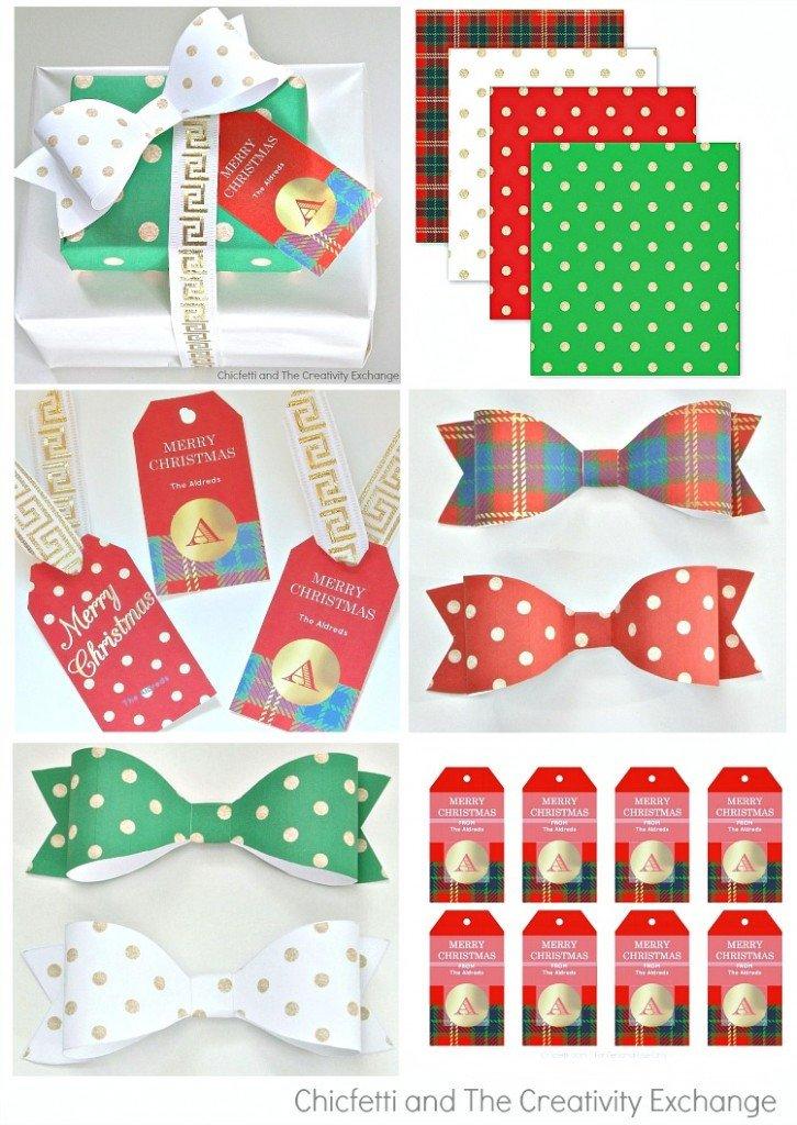 Free Printable Christmas Paper Favorite Christmas Snacks and Printable Gift Tag