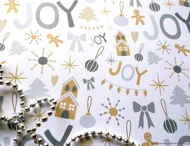 Free Printable Christmas Paper Free Printable Christmas Wrapping Paper and Tags
