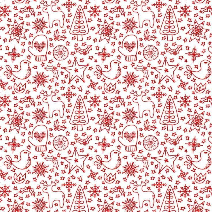 Free Printable Christmas Paper Printable Christmas Wrapping Paper Free Download