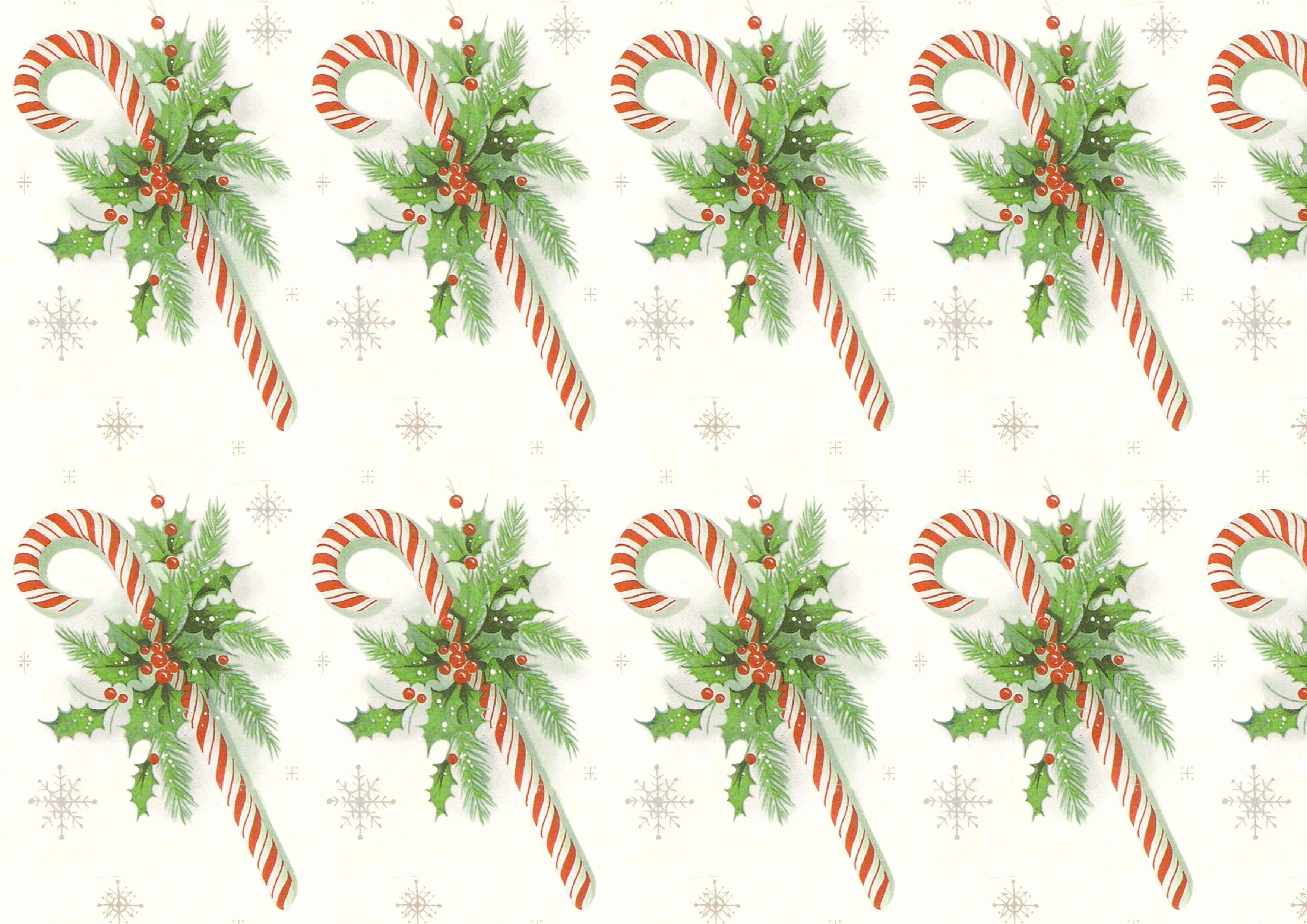 Free Printable Christmas Paper Retro Candy Cane – Seamless Tile and Printable Papers