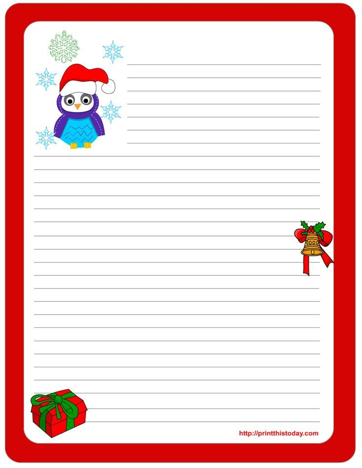 Free Printable Christmas Stationary 111 Best Christmas Stationery Images On Pinterest