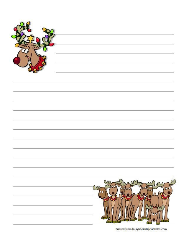 Free Printable Christmas Stationary 76 Free Christmas Stationery and Letterheads