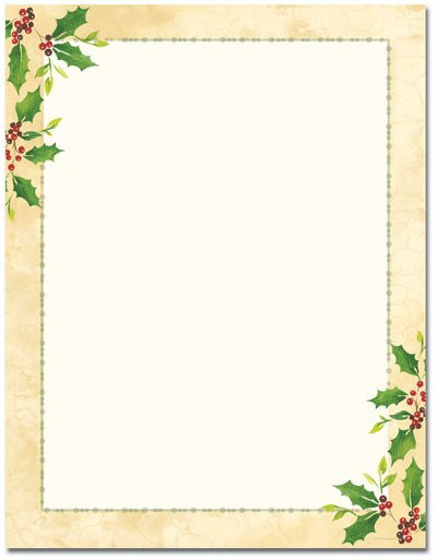 Free Printable Christmas Stationary Christmas Stationary Printables On Pinterest