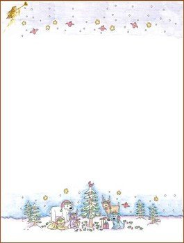 Free Printable Christmas Stationary Christmas Stationery 2 Christmas Stationery Free