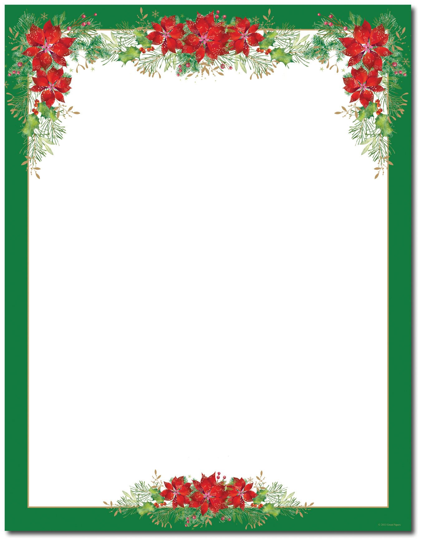 Free Printable Christmas Stationary Christmas Stationery Printer Paper