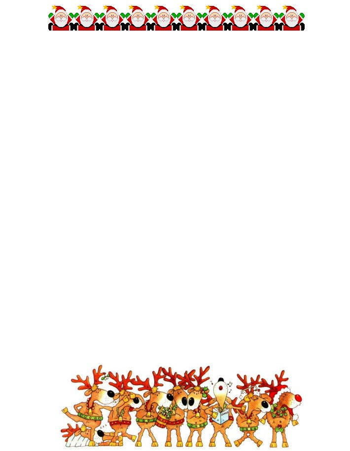 Free Printable Christmas Stationery 17 Christmas Paper Templates Doc Psd Apple Pages