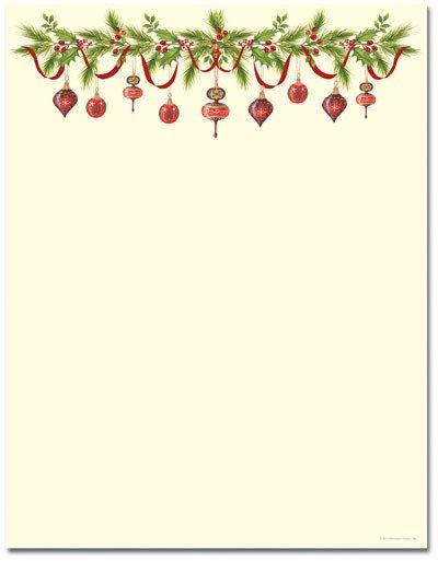 Free Printable Christmas Stationery Christmas Stationery Printer Paper