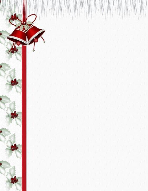 Free Printable Christmas Stationery Christmas Stationery Stationery Templates and Stationery