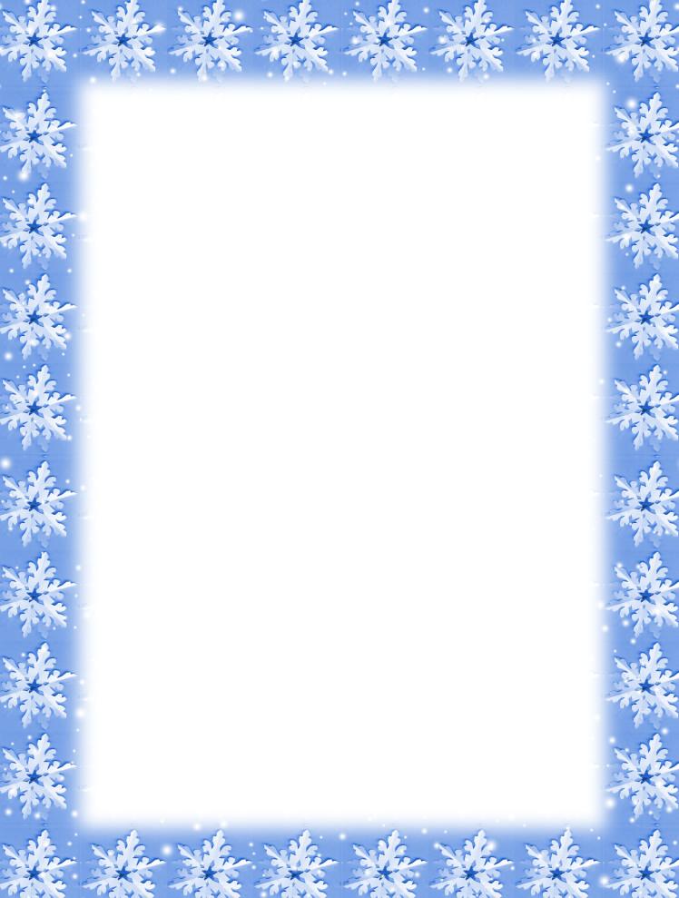 Free Printable Christmas Stationery Free Printable Christmas Snowflake Stationery