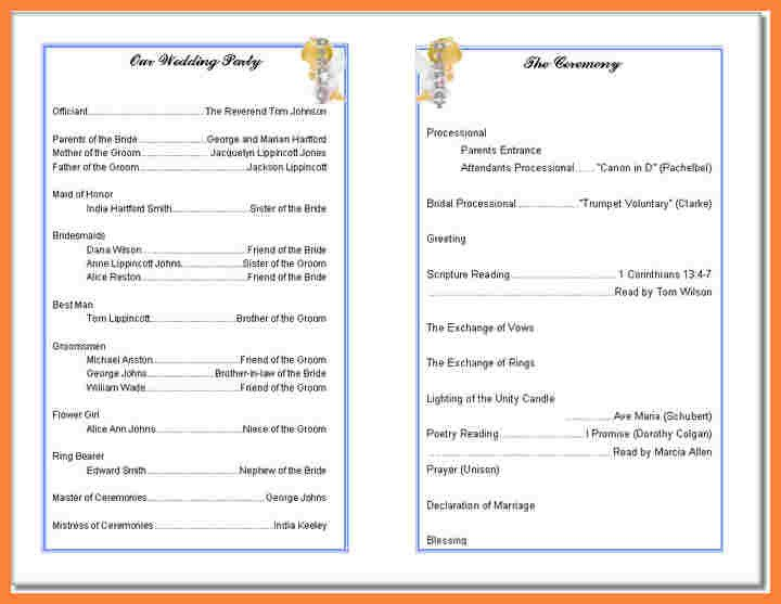 Free Printable Church Bulletin Templates Free Printable Church Bulletin Templates