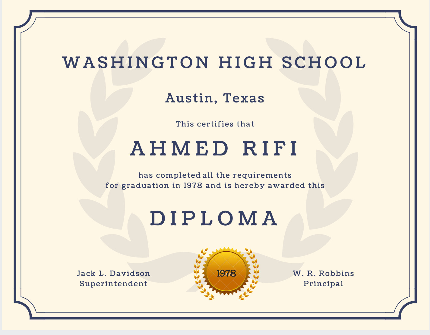 Free Printable Diploma Template 60 Free High School Diploma Template Printable
