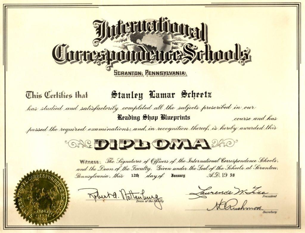 Free Printable Diploma Template Blank Certificates