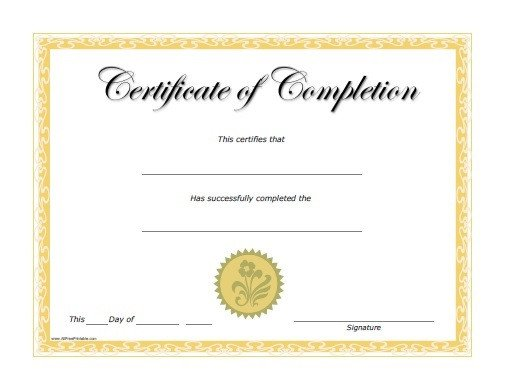Free Printable Diploma Template Certificate Templates
