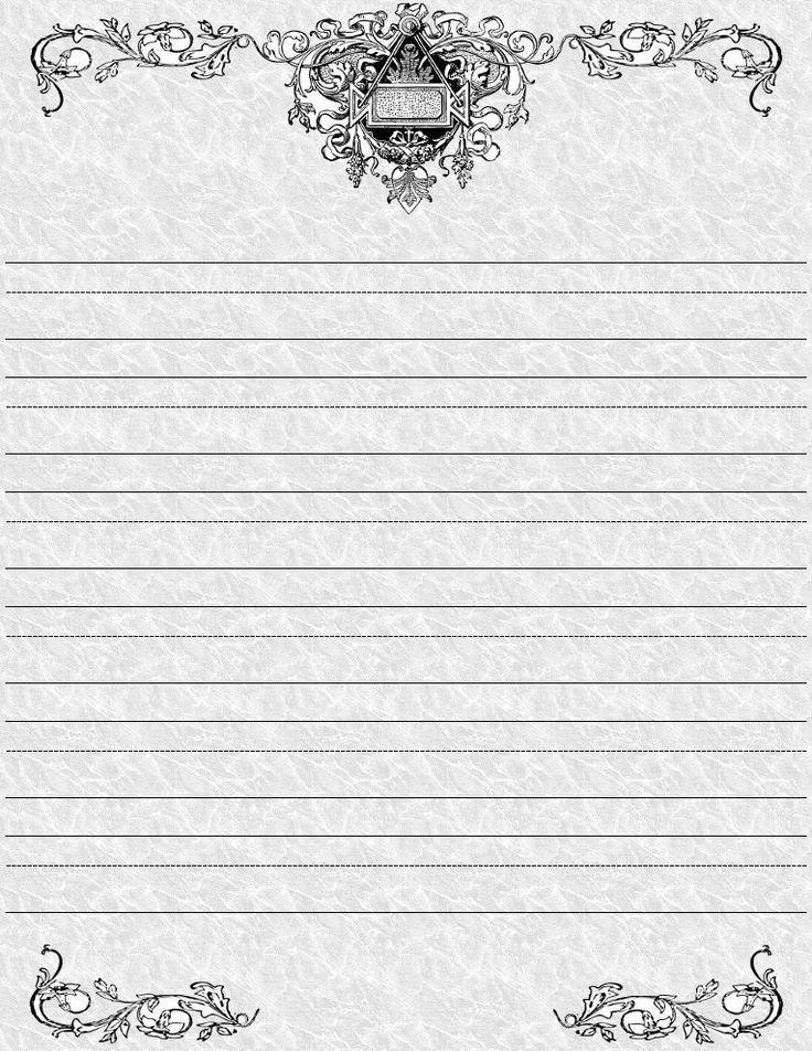 Free Printable Elegant Stationery Templates Free Printable Elegant Stationery Printable Pages