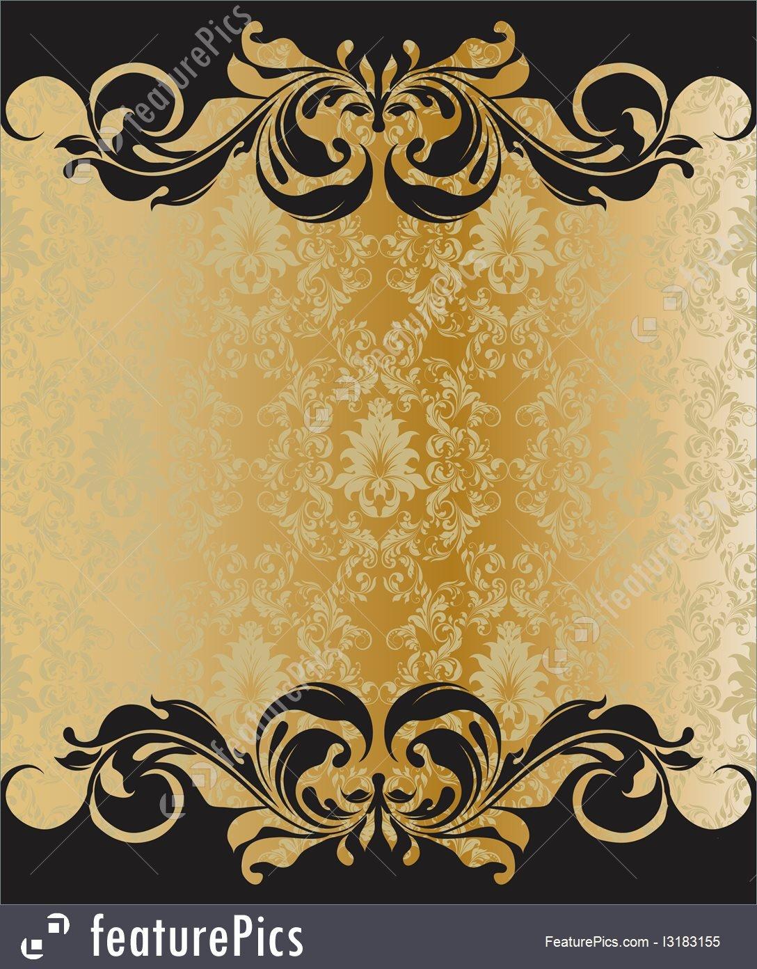 Free Printable Elegant Stationery Templates Templates Elegant Vintage Invitation Template Stock