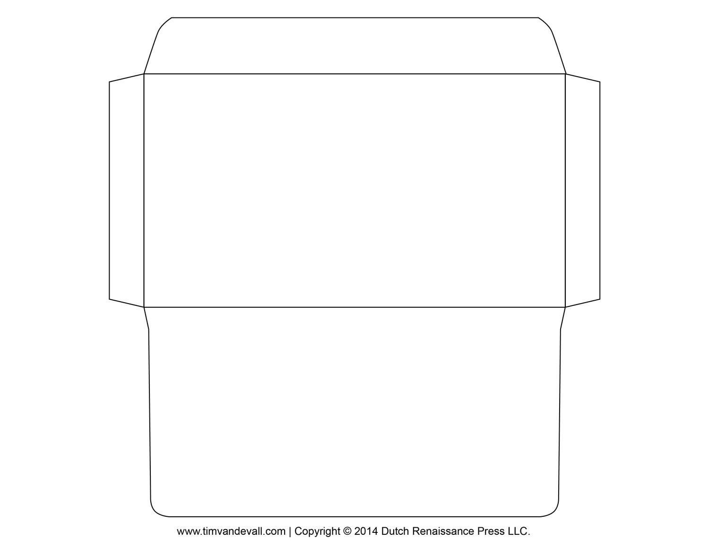 Free Printable Envelope Templates Envelope Template 3 Templates