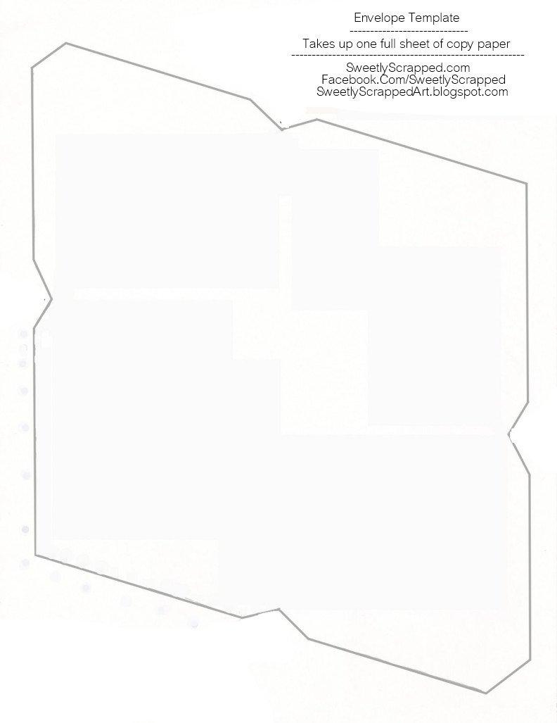Free Printable Envelope Templates Sweetly Scrapped Free Printable Envelopes