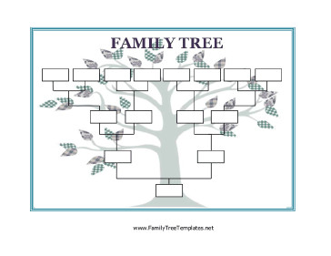 Free Printable Family Tree Template Blank Family Tree Template