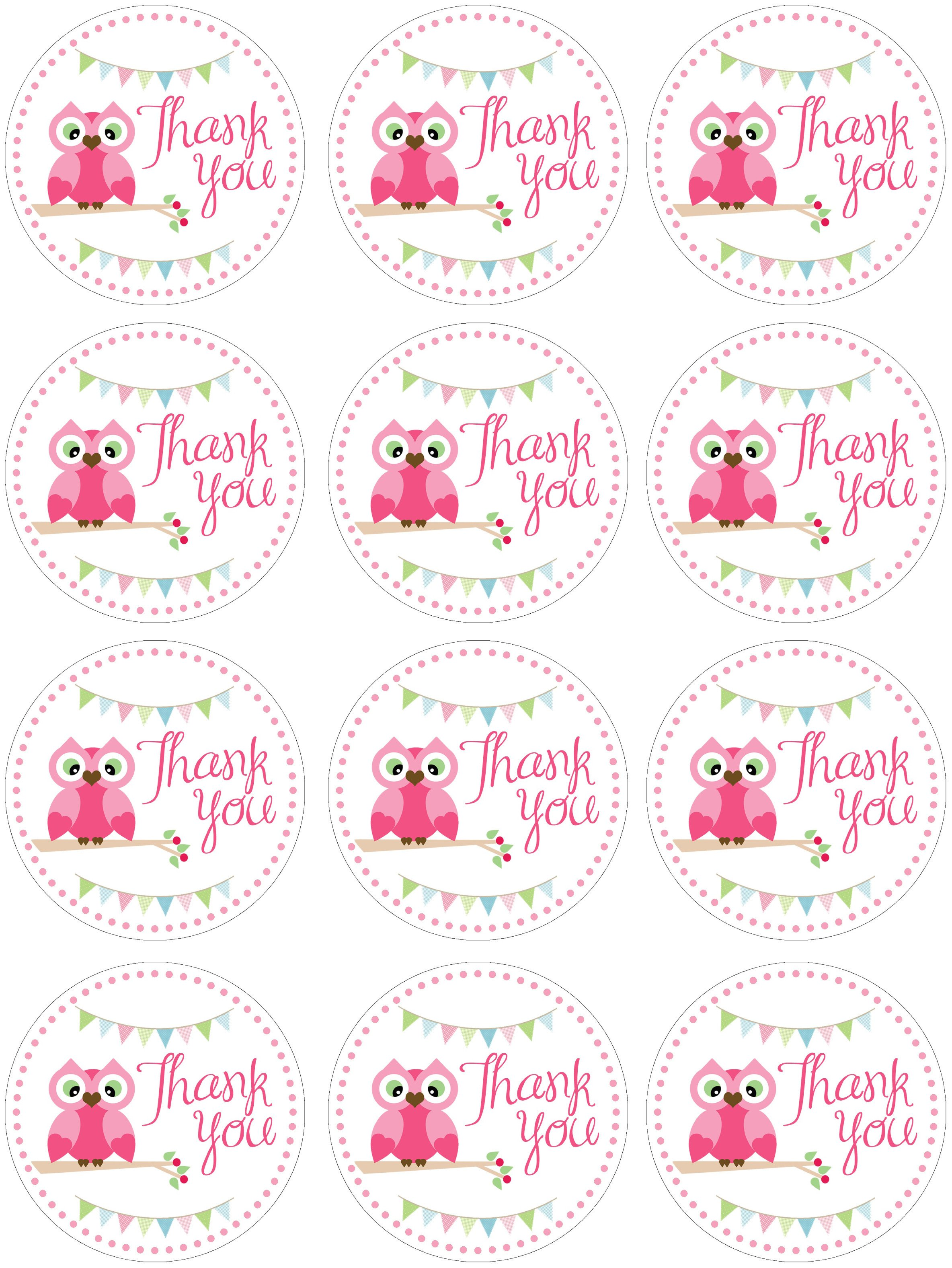 Free Printable Favor Tags Owl themed Birthday Party with Free Printables How to