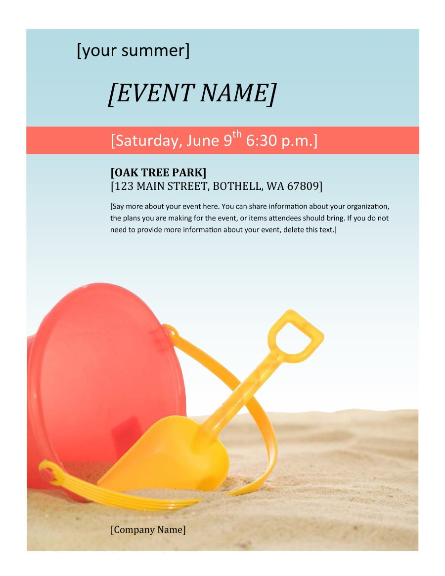 Free Printable Flyer Templates 41 Amazing Free Flyer Templates [event Party Business