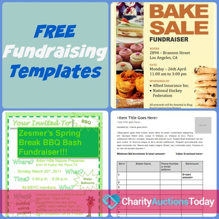 Free Printable Flyer Templates Free Fundraiser Flyer