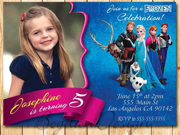 Free Printable Frozen Invites 13 Frozen Invitation Templates Word Psd Ai