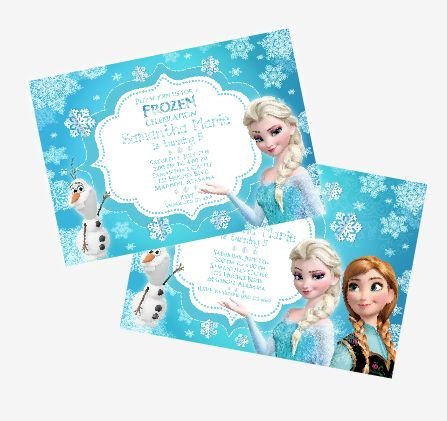 Free Printable Frozen Invites Disney S Frozen Birthday Party Ideas