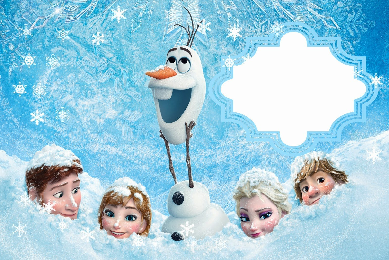 Free Printable Frozen Invites Frozen Free Printable Cards or Party Invitations