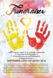 Free Printable Fundraiser Flyer Templates Fundraiser сharity