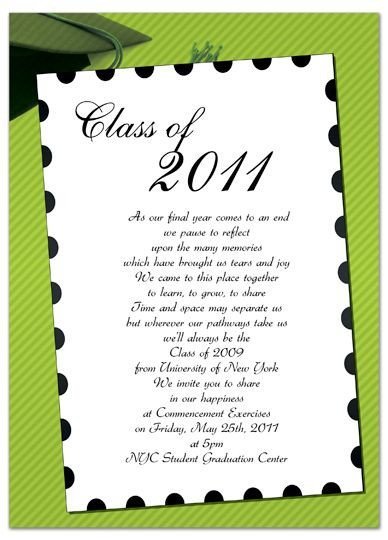 Free Printable Graduation Invitation Templates Free Invitation Templates for Word