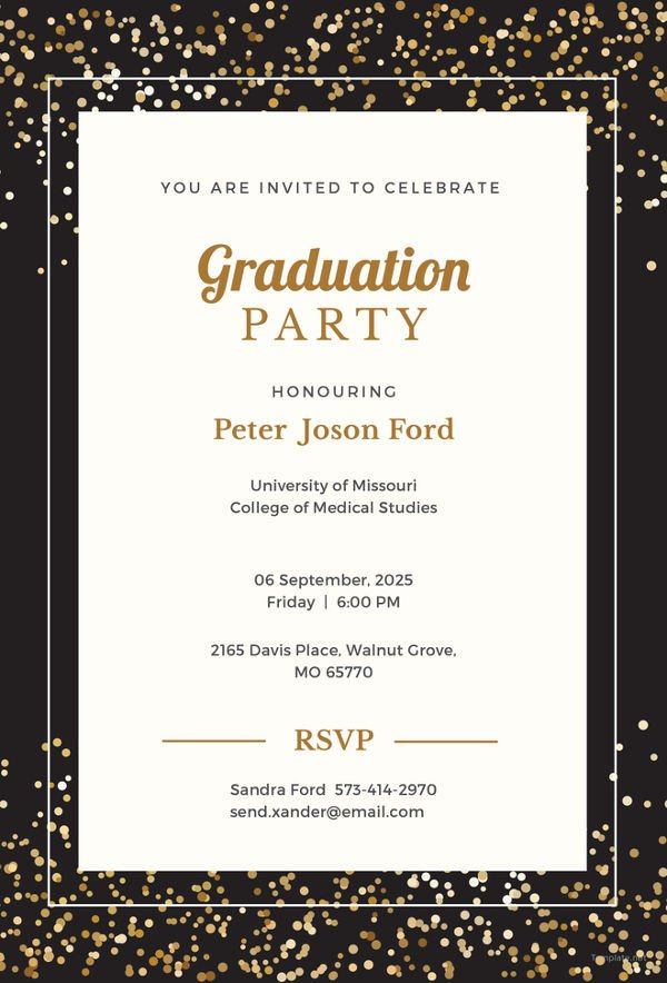 Free Printable Graduation Invitations 19 Graduation Invitation Templates Invitation Templates
