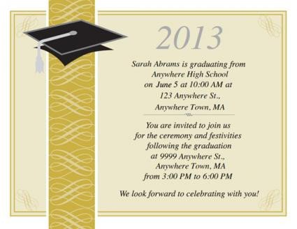 Free Printable Graduation Invitations Free Printable Graduation Invitations