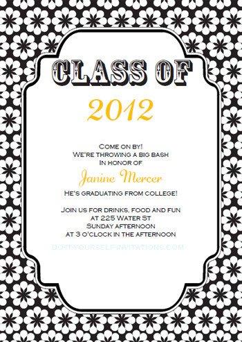 Free Printable Graduation Invitations Free Printable Graduation Invitations Templates