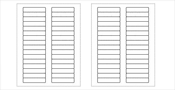 Free Printable Label Template 28 Free Label Templates Free Word Psd Pdf format