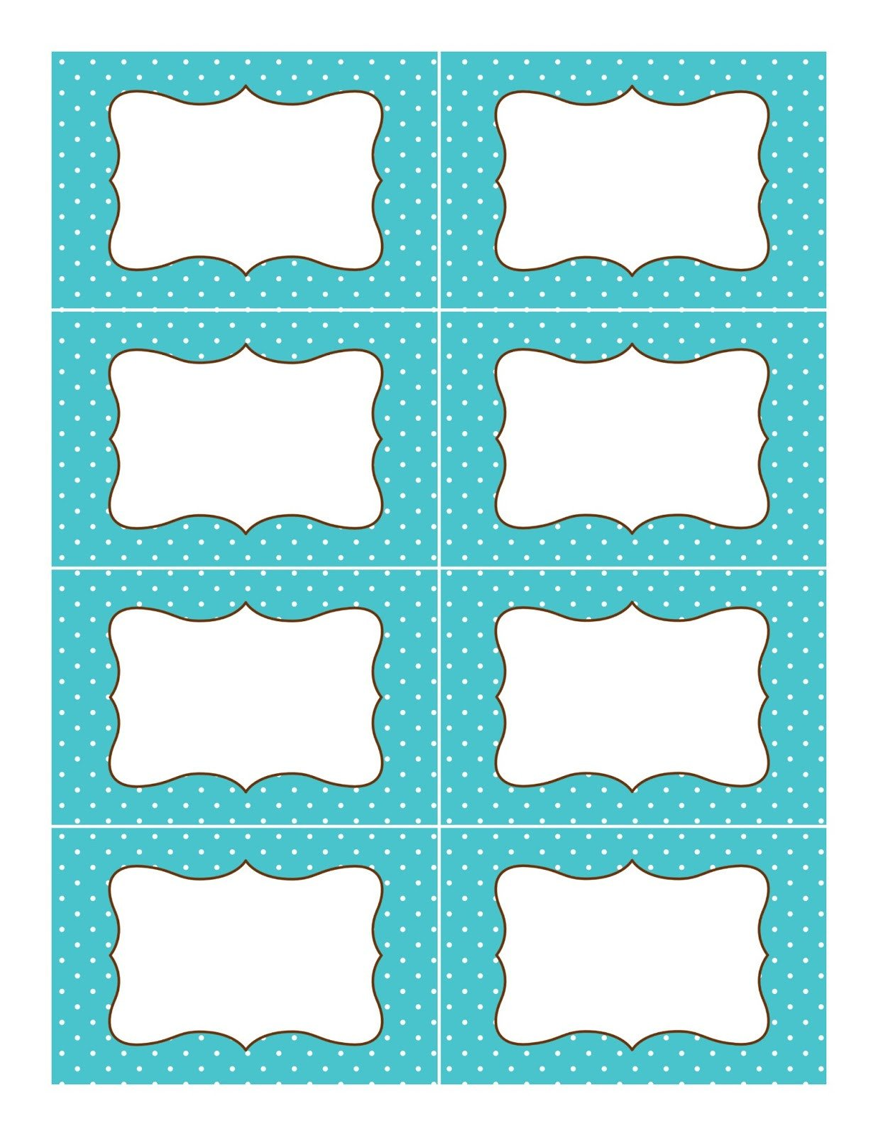 Free Printable Labels Template 1000 Ideas About Polka Dot Labels On Pinterest