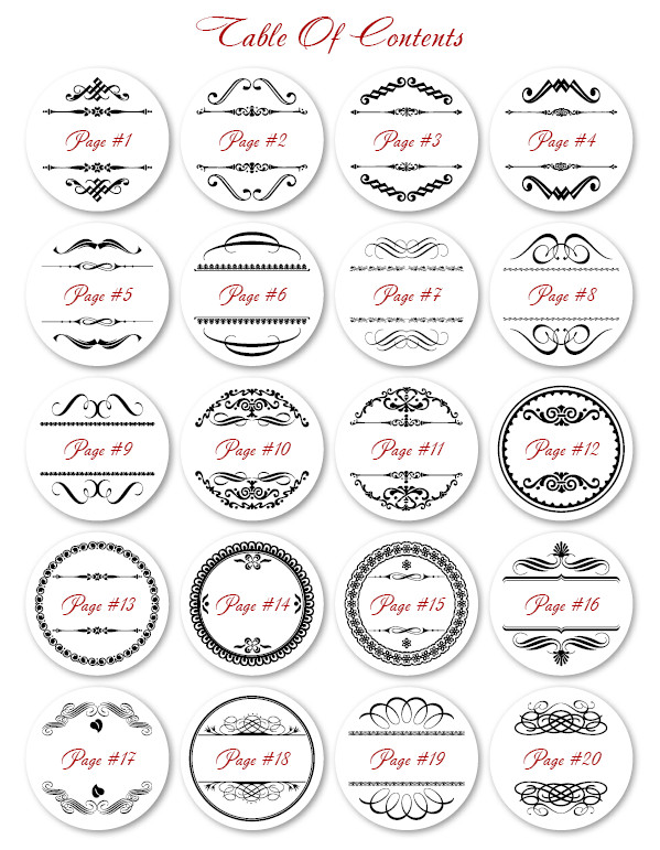 Free Printable Labels Template Printable 2″ Round Labels – Free Template Set