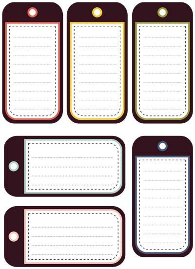 Free Printable Luggage Tags Still Playing with Printable Journaling Tags and Elements