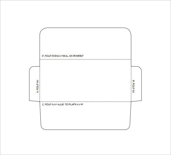 Free Printable Money Envelopes Envelope Template 37 Free Printable Psd Pdf Eps Word