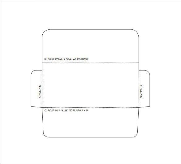 Free Printable Money Envelopes Envelope Template 37 Free Printable Psd Pdf Eps Word