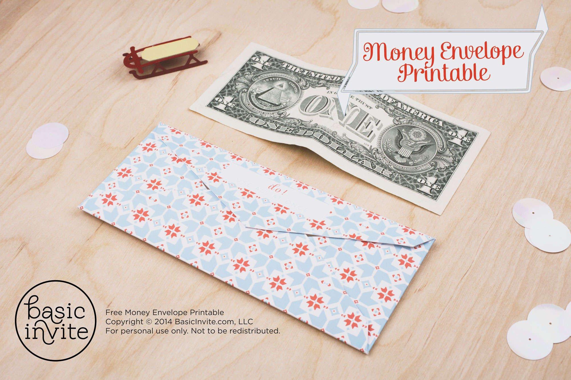 Free Printable Money Envelopes Money Envelope Printable