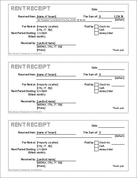 Free Printable Receipt Templates Free Receipt Template