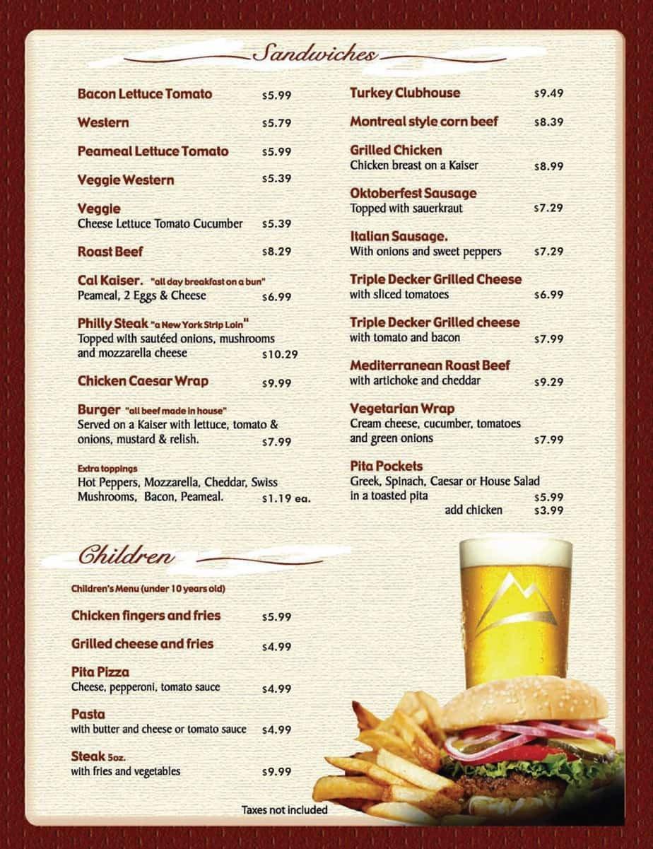 Free Printable Restaurant Menu Templates 8 Menu Templates Excel Pdf formats