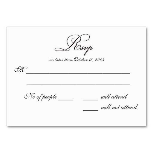 Free Printable Rsvp Cards Doc Rsvp Card Template Word Wedding Invitation You are