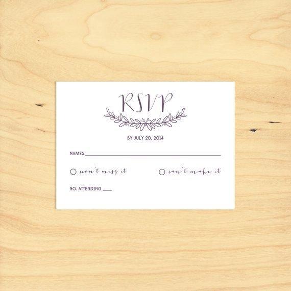 Free Printable Rsvp Cards Printable Rsvp Card